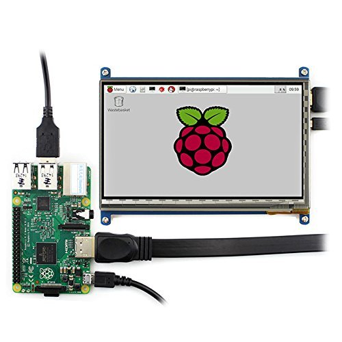 Makibes 7 inch Capacitive Touch Screen LCD (C) 1024×600 HDMI interface For Raspberry Pi/BB BLACK/PC/Various Systems