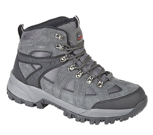 Johnscliffe® ANDES Hiking / Walking Boots. Waterproof, Charcoal Gray. Suede 1
