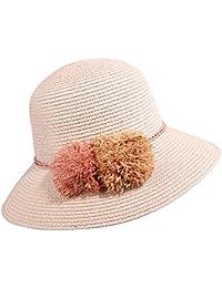 RONGLINGXING Cappelli per Donne Cappello di Paglia Primavera-Estate Cappello  da Donna Outdoor Travel Travel 30c1157f6951