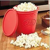 Gamloious Silicone di Alta qualità Fai da Te Microwave Popcorn Maker Benna Snack Secchio Famiglia Feste Cucina Strumenti del Popcorn a microonde