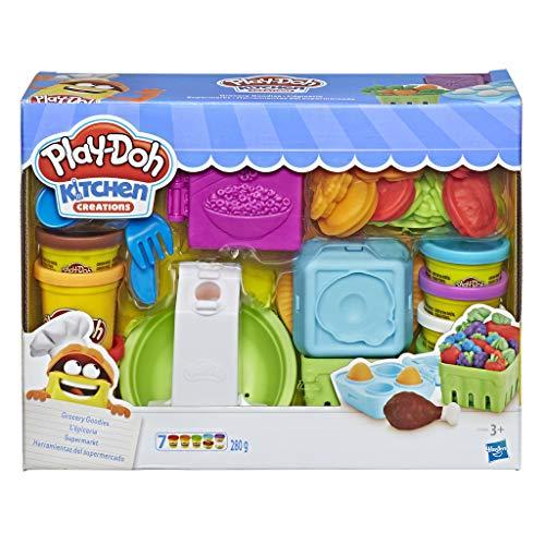 Play-Doh- Kitchen Creations Grocery Goodies Herramientas