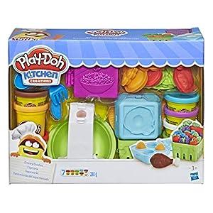 Play-Doh- Kitchen Creations Grocery Goodies Herramientas del Supermercado, (Hasbro E1936EU4)