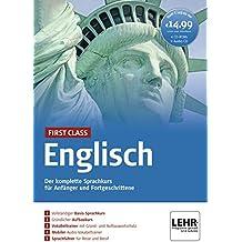 First Class Englisch. Paket: 4 CD-ROMs + Audio-CD: Der komplette Sprachkurs für Anfänger und Fortgeschrittene