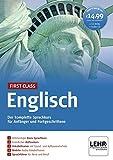 First Class Englisch. Paket: 4 CD-ROMs + Audio-CD: Der komplette Sprachkurs für Anfänger und Fortgeschrittene -
