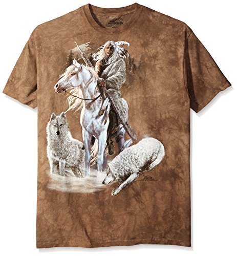 "The Mountain T-Shirt ""Companions of the Hunt"" Braun"