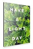 artboxONE Alu-Print 120x80 cm Have a light day von Künstler Tim Löhrs