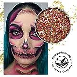 EcoStardust Feurecracker biologisch abbaubarer Glitzer, Festival, Bioglitter, Kosmetik, Gesichts- und Körperhaare