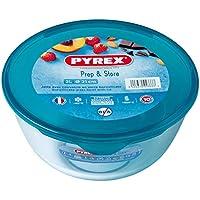 Pyrex Cook&Store - Bol para mezclas, 21 cm, 2 l + tapa, color amarillo