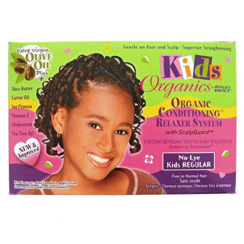 Kids Organics No-Lye Organic conditioning Relaxer Regular