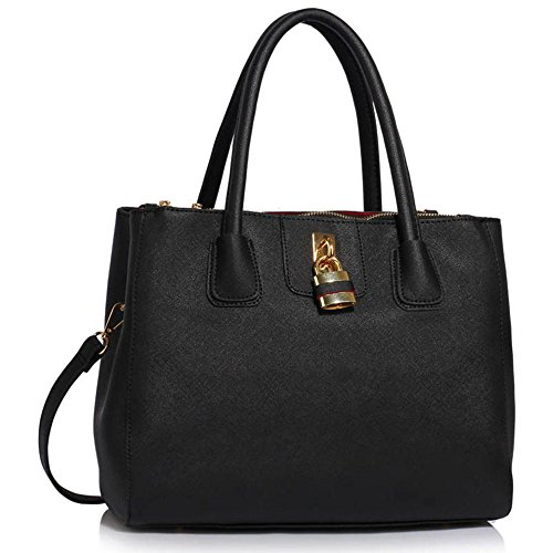 Ladies Faux Leather Handbags Large Womens Designer Bags Tote Shoulder Bags  - Buy Online in UAE.  5d081ea574086