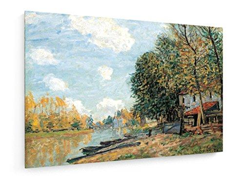 Alfred Sisley - Ufer di Loing bei