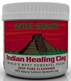 Aztec Beauty Indian Healing Clay 100% Natural Bentonite Clay - From The UK