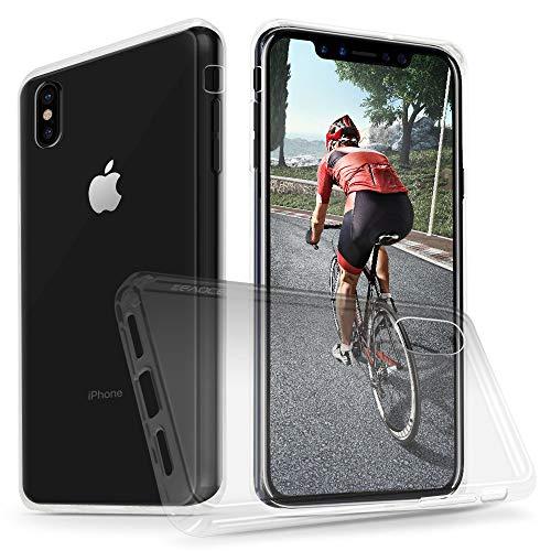 Evocel Schutzhülle für iPhone XS Max, transparent, für Apple iPhone XS Max, farblos - Telefono T-mobile
