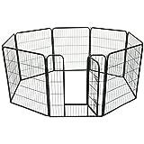 MCTECH 8TLG ruota libera recinto conigli animali di Tal freigehege cagnolino freigehege cucciolo all' aperto di stalla per piccoli animali