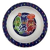 PJ Masks 841249701948 Piatto Fondo per Microonde