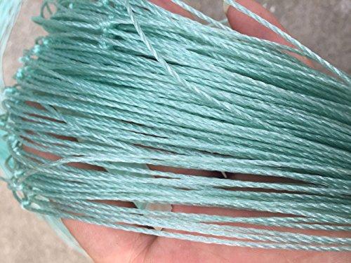 Mitefu Filet Polyvalent En Polyéthylène pour Plantes Grimpantes L'aviculture Les Courts de Tennis, 24 Brins, W1.5xL18m, Taille de Maille: 20x20cm