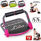 Xn8 ABS Core Smart Body Exercise Machine Fitness Trainer AB Toning Workout Gym Home Equipment (Light Pink)