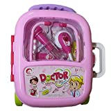 #9: Generic Doctor Medical Kit Toy Set with Pull Along Trolley Bag for Kids
