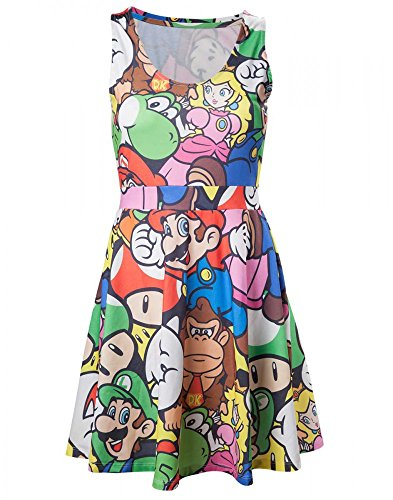 Preisvergleich Produktbild NINTENDO - Mario and Friends Kleid XL