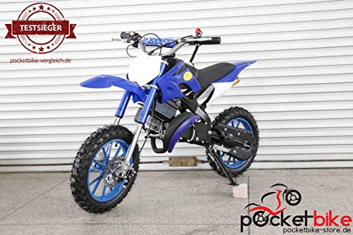 Apollo Dirt Bike 2016 Crossbike 49 cc Pocketbike blau NEU
