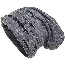shenky - Bonnet d été de printemps en jersey - fin et long - 8d78fd878c2