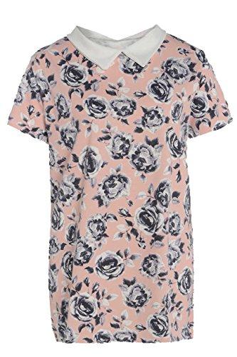 Damen Handtasche, Übergröße, Blumenmuster, Swing Dress kariert, Übergröße, erhältlich in Gr. 42-52 Mehrfarbig - Blumenmuster