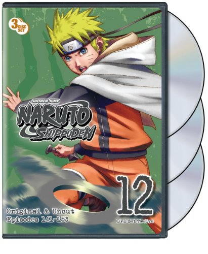 Naruto Shippuden: Uncut Set 12 (3pc) / (Full Sub) [DVD] [Region 1] [NTSC] [US Import]