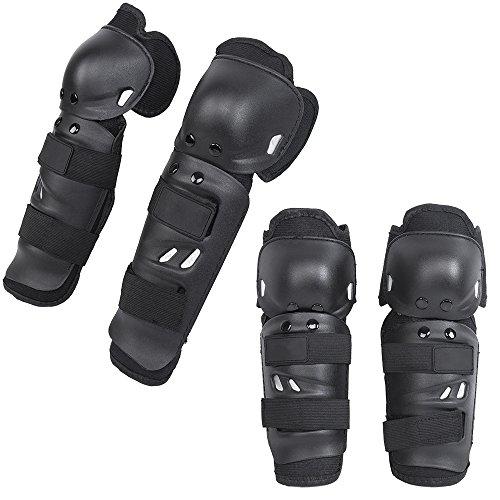 kt-supply-4-set-erwachsenen-ellbogenschoner-mit-protektor-fur-fahrrad-motorrad-mountain-bike-schwarz