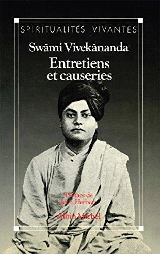 Entretiens et causeries (Spiritualités vivantes) par Swâmi Vivekânanda