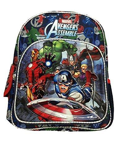 Petit sac à dos – New Super Héros Marvel Avengers Sac Scolaire Officiel 612238
