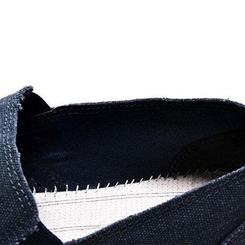 Mr. LQ - Beiläufige Segeltuch-Schuhe der Männer coffee