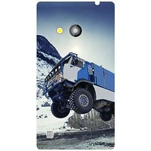 Nokia Lumia 720 Back Cover - Matte Finish Phone Cover