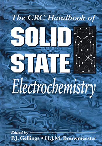 Handbook of Solid State Electrochemistry (English Edition)