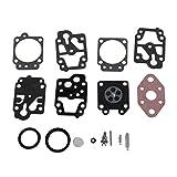 FXCO Kit de réparation carb carburateur carb Rebuild outil joint pour Walbro K20-WYL...