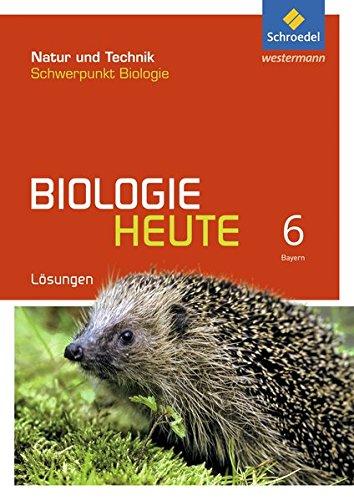 Biologie heute SI - Allgemeine Ausgabe 2017 für Bayern: Lösungen 6
