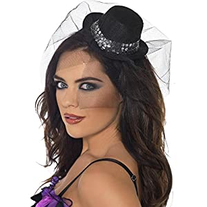 SMIFFYS Fever Mini Top Hat on Headband [importato da UK]