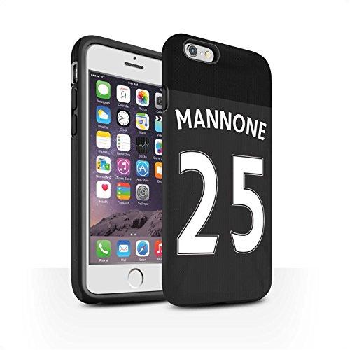Offiziell Sunderland AFC Hülle / Matte Harten Stoßfest Case für Apple iPhone 6 / Jones Muster / SAFC Trikot Away 15/16 Kollektion Mannone