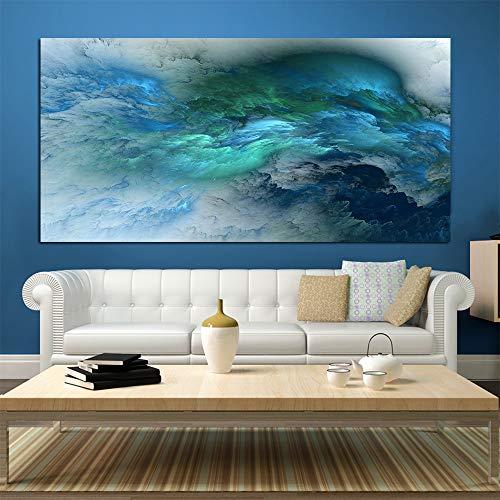 NIMCG Arte Abstracto Estilo Color Lienzo irreal Pintura