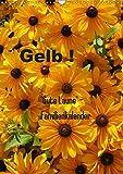 Gelb (Wandkalender 2019 DIN A3 hoch): Der Familienkalender in sonnigem Gelb sorgt für gute Laune durchs ganze Jahr (Familienplaner, 14 Seiten ) (CALVENDO Natur)