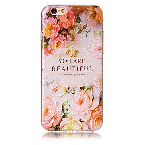 iPhone 6/iPhone 6S Hülle Case, MSK 3x TPU Silikon Tasche Schutzhülle Softcae Fall Euit Back Cover Bumper Handytasche Scratch Telefon-Kasten Handyhülle Handycover für iPhone 6/iPhone 6S Zubehör1