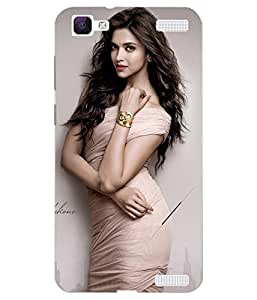 VIVO V1 Max Printed Back Case Cover By Case Cover