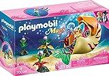 PLAYMOBIL 70098 Magic Meerjungfrau mit Schneckengondel, bunt