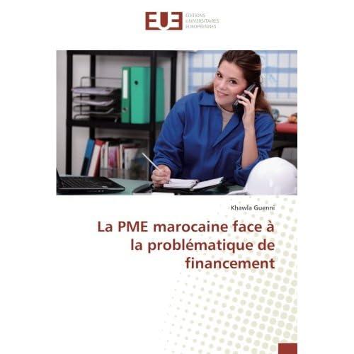 La PME marocaine face à la problématique de financement