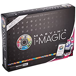 Marvin's iMagic Interactive Box of Tricks Set – Amazing Smart Magic Set for Smart Phones and Smart devices  (compatible with Apple & Android devices) Professional Magic made easy