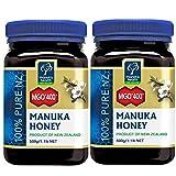 Manuka Health aktiver Manuka-Honig MGO 400+, 2er Pack (2 x 500 g)