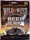 Wild West Beef Jerky Trockenfleisch Peppered 50 Gramm
