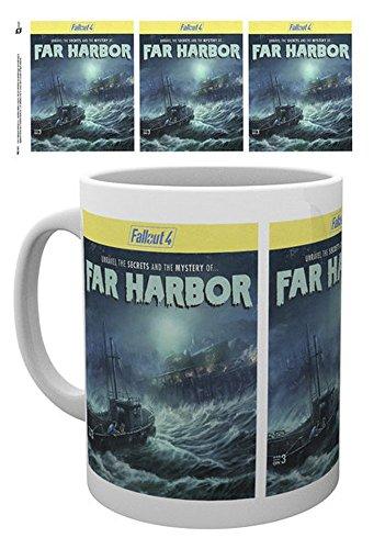 empireposter 740366Fallout 4-Far Harbor-Tazza, Diametro 8,5cm in ceramica, Multicolore, 12x 8x 9,5cm