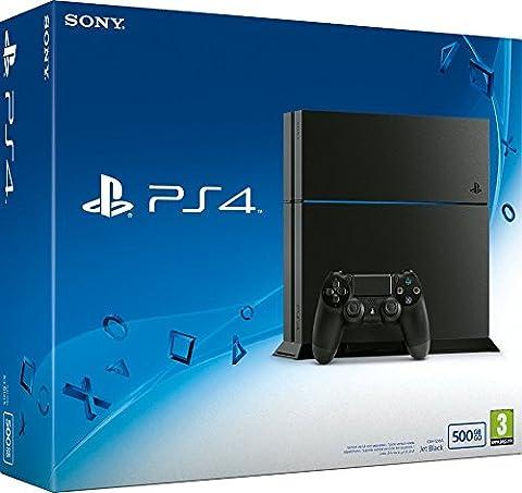 PlayStation 4 - Konsole (500GB, schwarz)