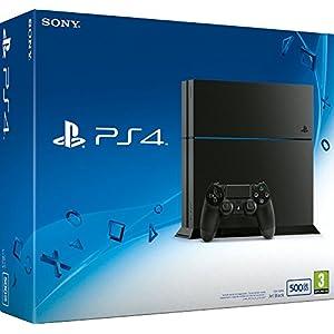 PlayStation 4 – Konsole (500GB, schwarz) [CUH-1216A]