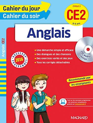 Cahier du jour/Cahier du soir Anglais CE2 - Nouveau programme 2016 par Collectif